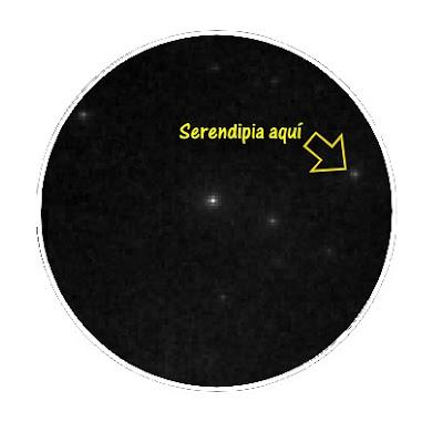Serendipia en astronomia