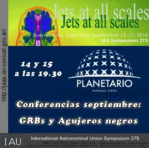 conferencias Planetario