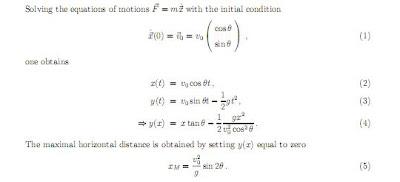 Ecuaciones básicas movimiento