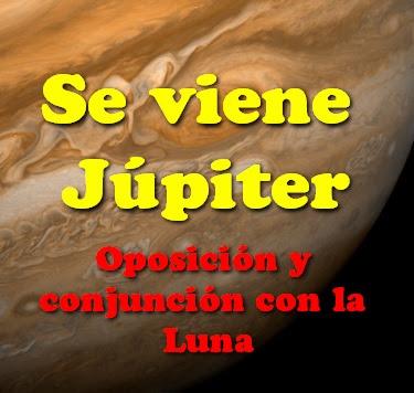 Se viene Júpiter
