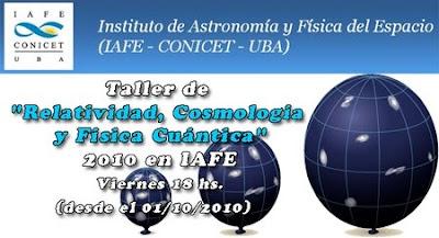 Talleres de ciencia 2010 IAFE