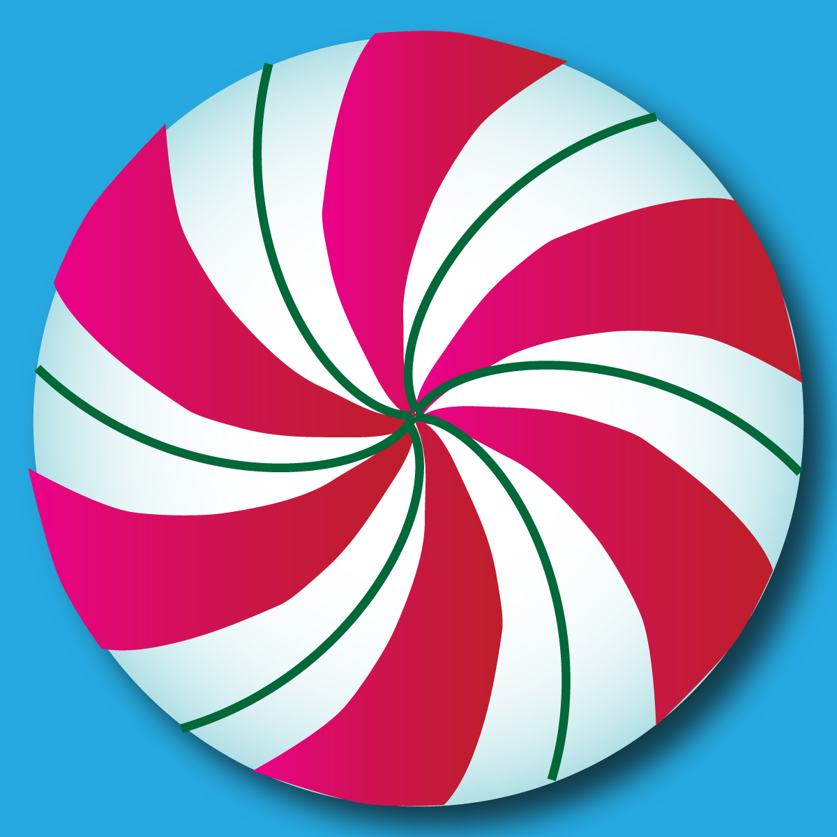 Displaying 19> Images For - Peppermint Candy Template...