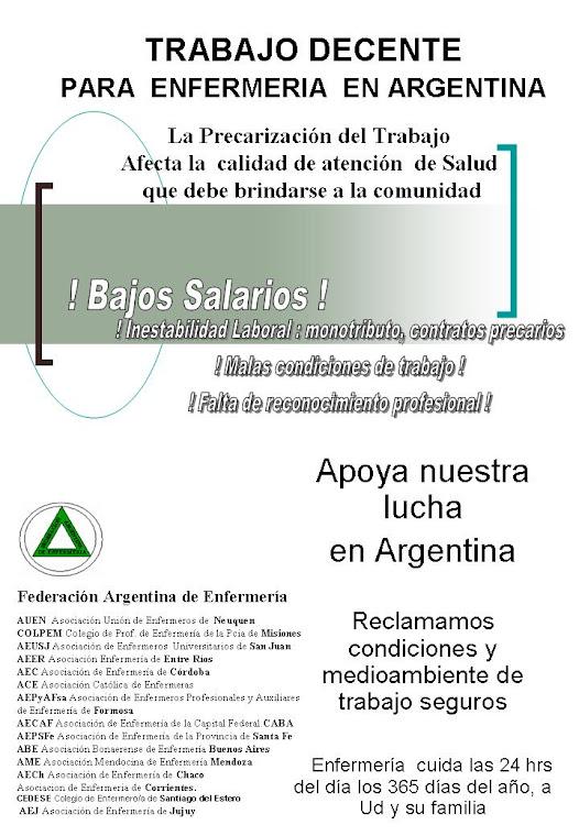 ASOCIACION DE ENFERMERIA DE LA PCIA DE SANTA FE
