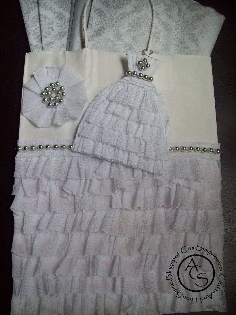 Funny Wedding Gift Bag Ideas : ... gift turns out to be a bummer, at least she has this bag and card! lol