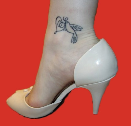 butterfly ankle tattoos for girls-tribal butterflr tattoos-most puular