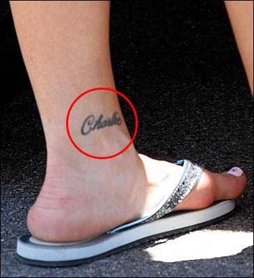Jon & Kate Plus 8 star Kate Gosselin showed off her renewed ankle tattoo