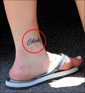 simple ankle tattoos design