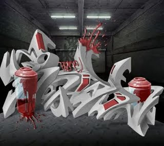 3d arrow graffiti alphabet styles white red,3d styles alphabet,arrow 3d graffiti,3d arrow alphabet