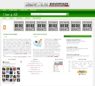 technorati style elegant blogger templates
