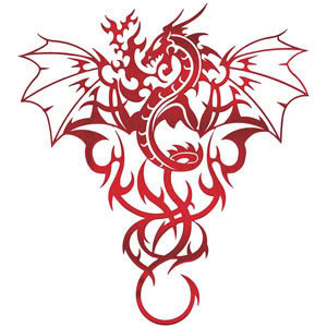 sketches dragon tattoos for men