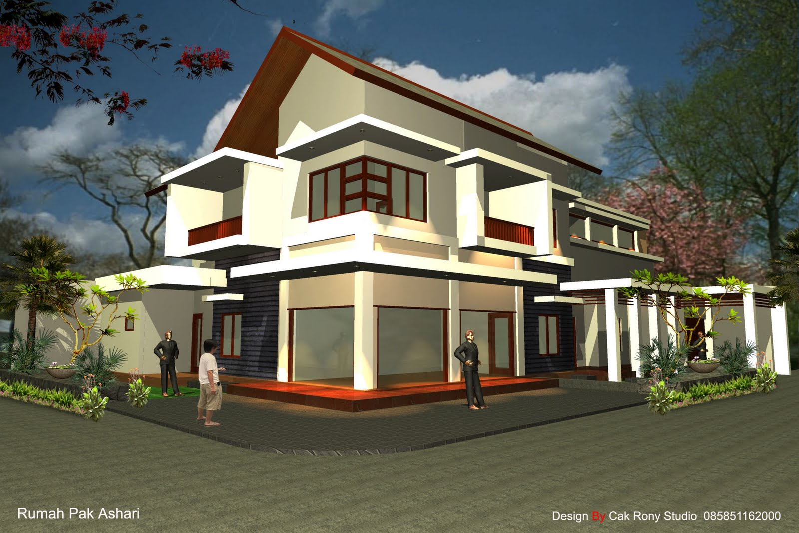 Look Luxuary Home Exterior Above , Very Amazing Exterior And
