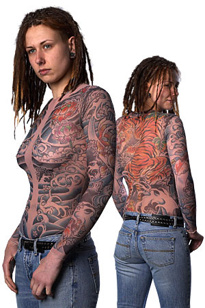 tattoo clothing. The experience of the Art Tattoo with