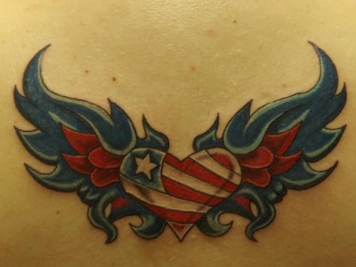 Lower Back Heart Tattoos Picture 4