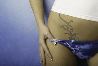 lower hip tattoos for girls