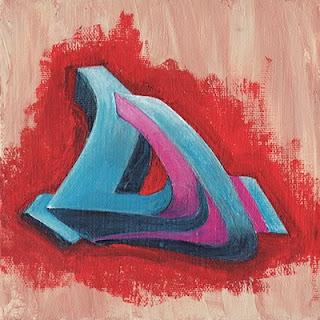 Graffiti Alphabet Letters D