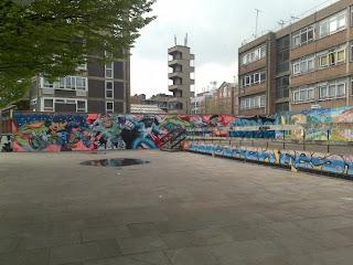 All Cartoon Old Street Graffiti