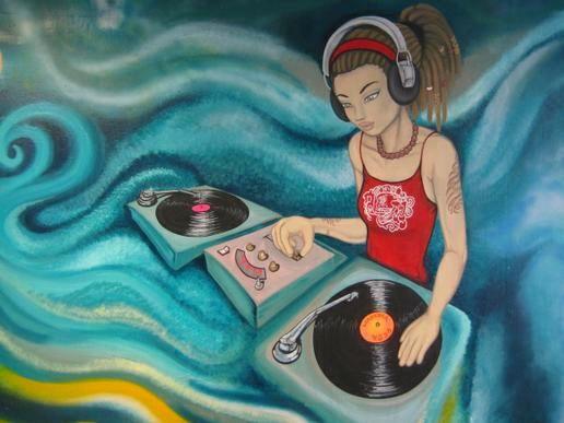 <b>DJ</b> P0N-3 Grunge <b>Graffiti Wallpaper</b> by SandwichDelta on DeviantArt