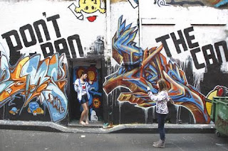 Graffiti Victoria Tourism