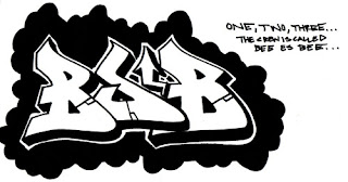 Graffiti BSB art design