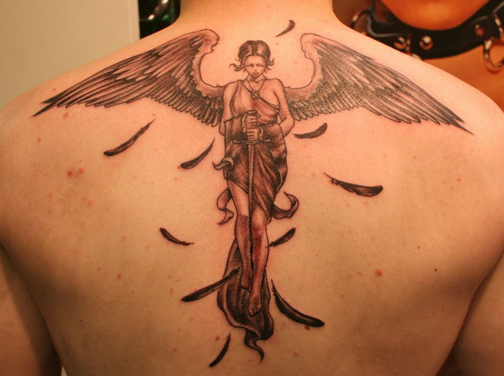mens star tattoos. Tattoos For Men Angels
