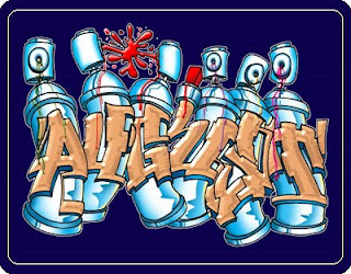 mr wiggles graffiti design