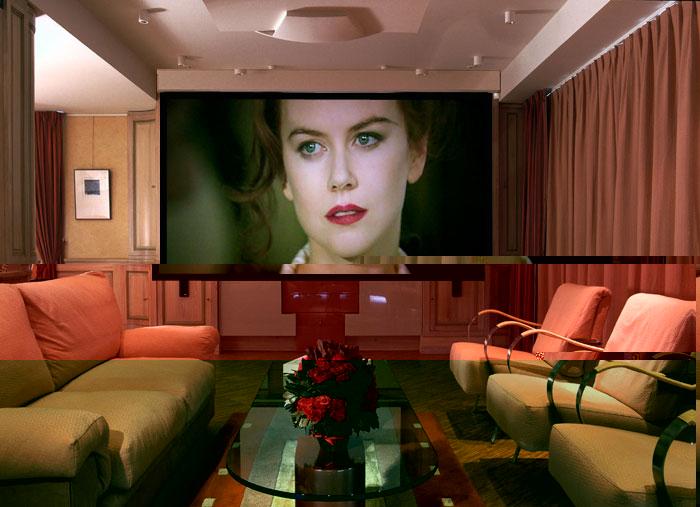 Home Design: Interior Design Home Theater