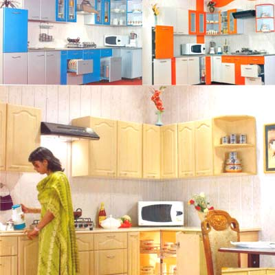 Interior Design Kitchens On Simple But Very Unique Home Kitchen In India Modern