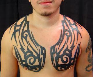 tribal chest tattoo ideas