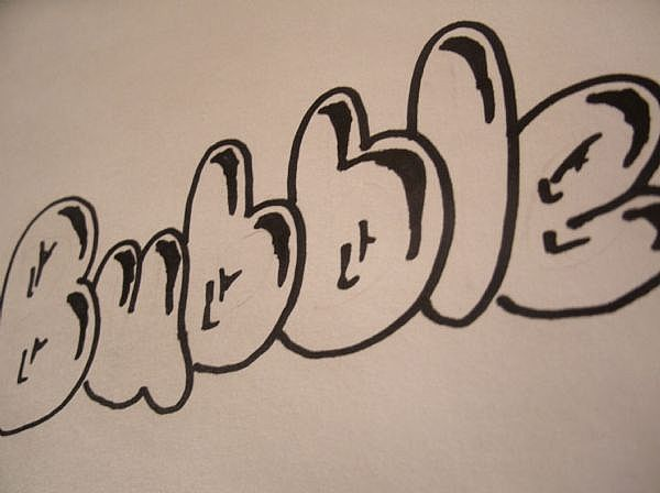 "Graffiti Alphabet Bubble Letters. Graffiti Letters Buble "" Arts"