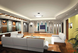 modern interior and natural home interior