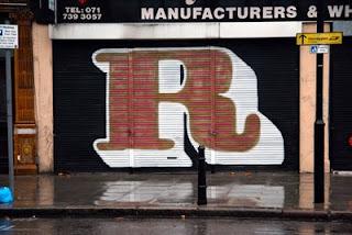 graffiti alphabet letters R