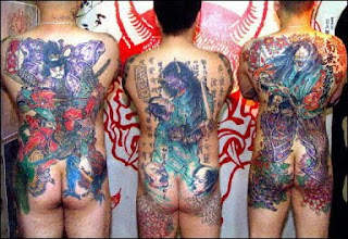 gangsta tattoos design yakuzza tattoo japanese