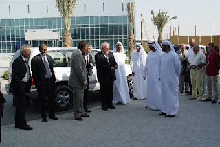 Official opening of WFP's office at the Dubai Humanitarian City