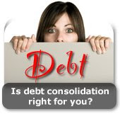 Government debt consolidation loans