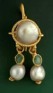 Ancient Pearl Earrings Found in Parking Lot Just Outside Jerusalem's Old City.