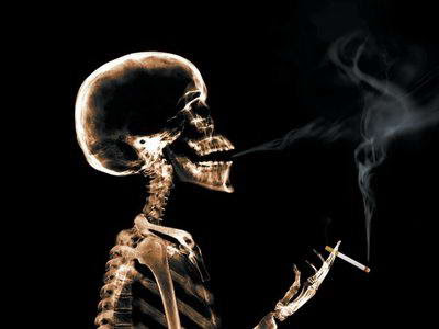 smoking death, smoking economy, smoke skull, smoking skull, negatif effect smoking