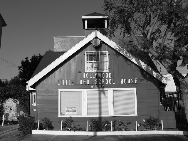 little red school house highland fountain los angeles hollywood california