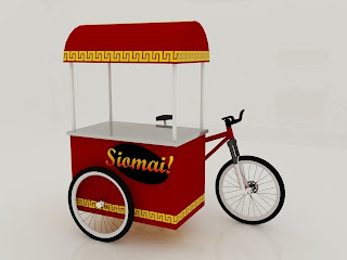 Bike Food Cart http://iconthegecko.blogspot.com/2009/06/food-carts.html
