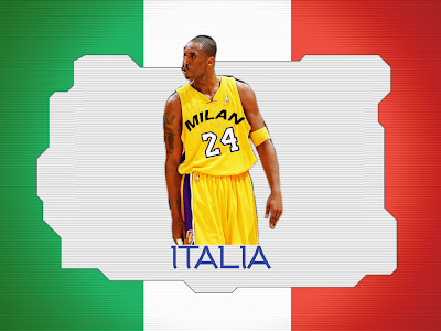 """Kobe Bryant: """"I would love to play in Italy ..."""