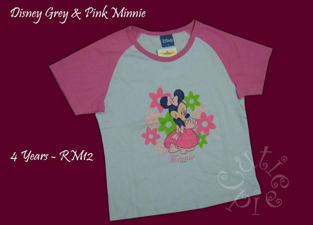 Disney Grey & Pink Minnie