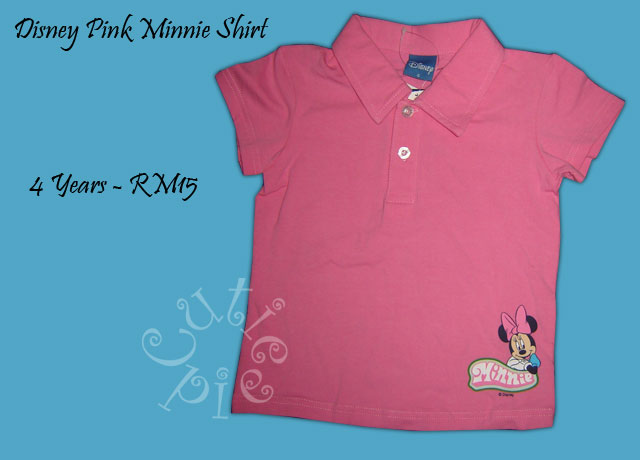 Disney Pink Minnie Shirt