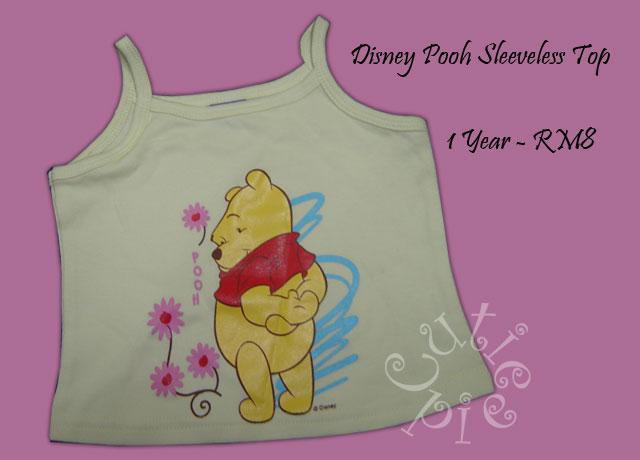 Disney Pooh Sleeveless Top