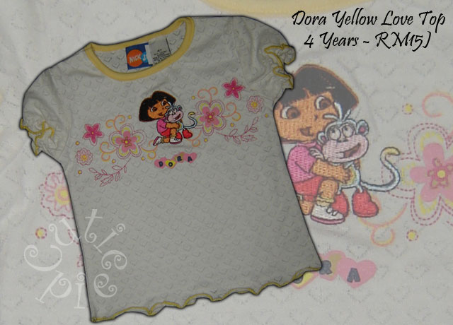 Dora Yellow Love Top