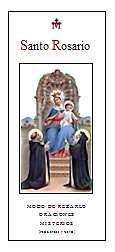 Recemos el Santo rosario...