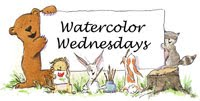 Watercolor Wednesdays&#39; new logo!