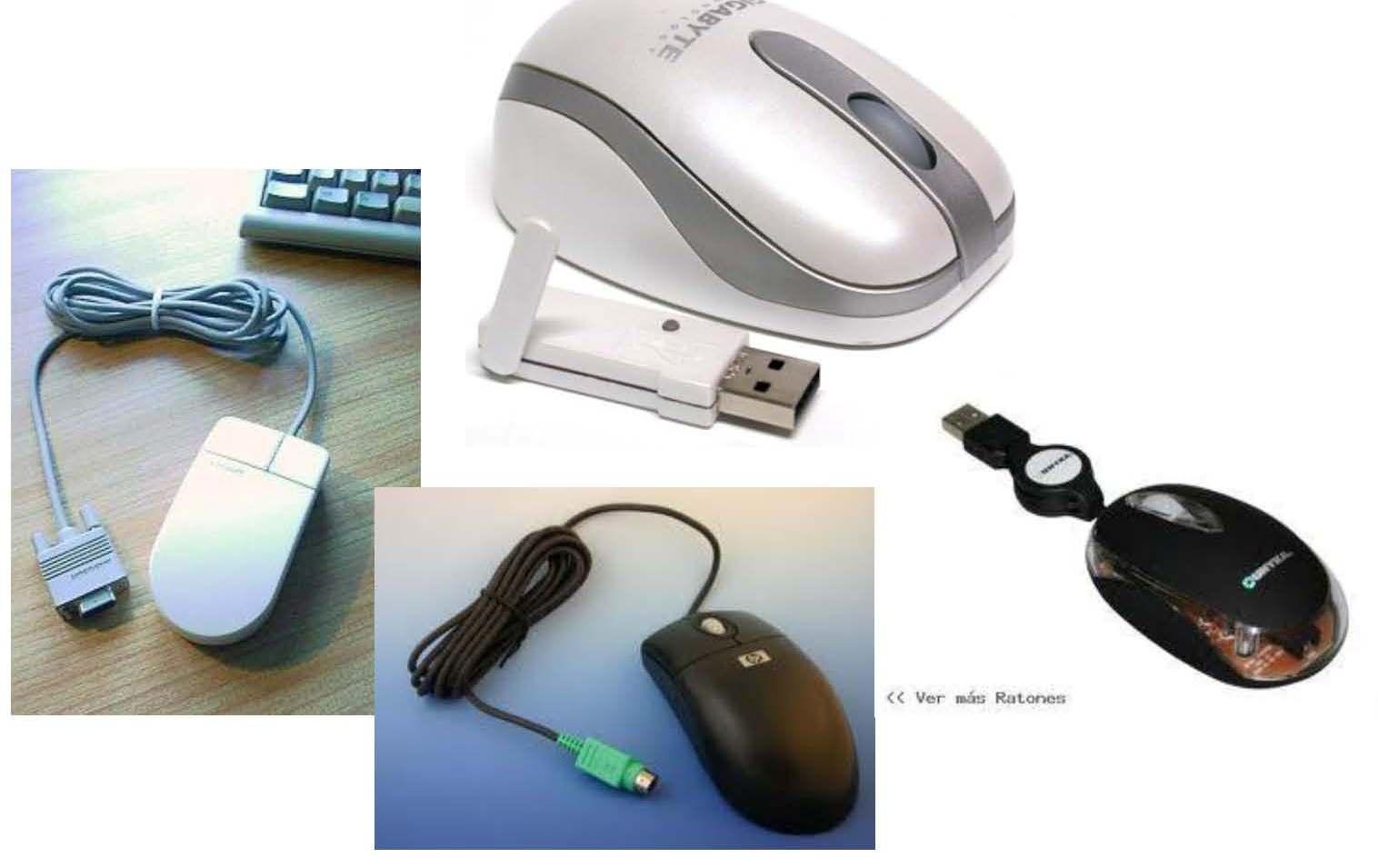secara fisik mouse terbagi menjadi 4 :