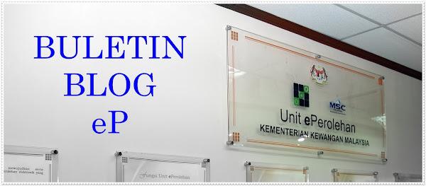 Selamat Datang ke Buletin Blog eP