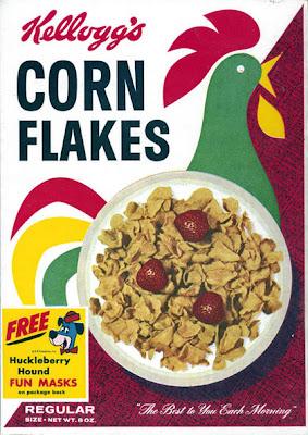 caja de corn flakes