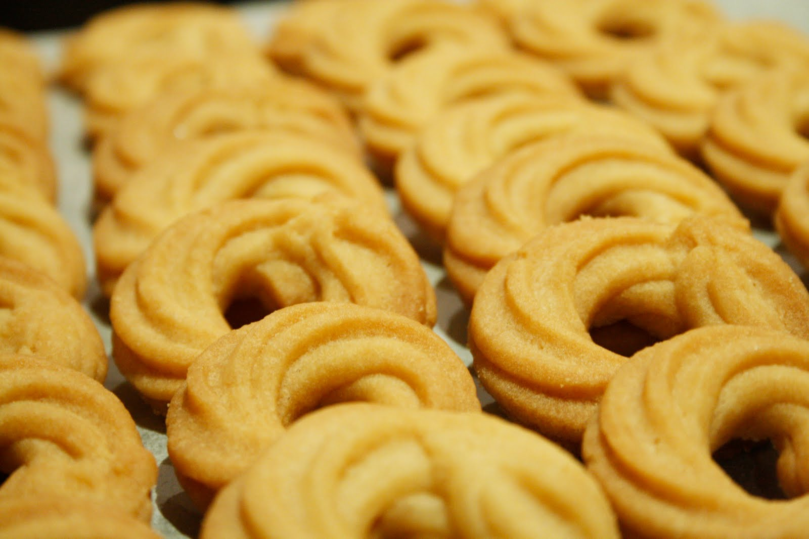 The Nooblet Patissier: Butter Cookies