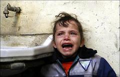 Il pianto di un innocente a Gaza